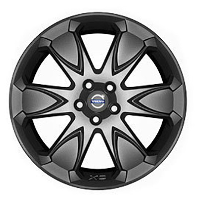 Volvo Erakir Wheel in Black