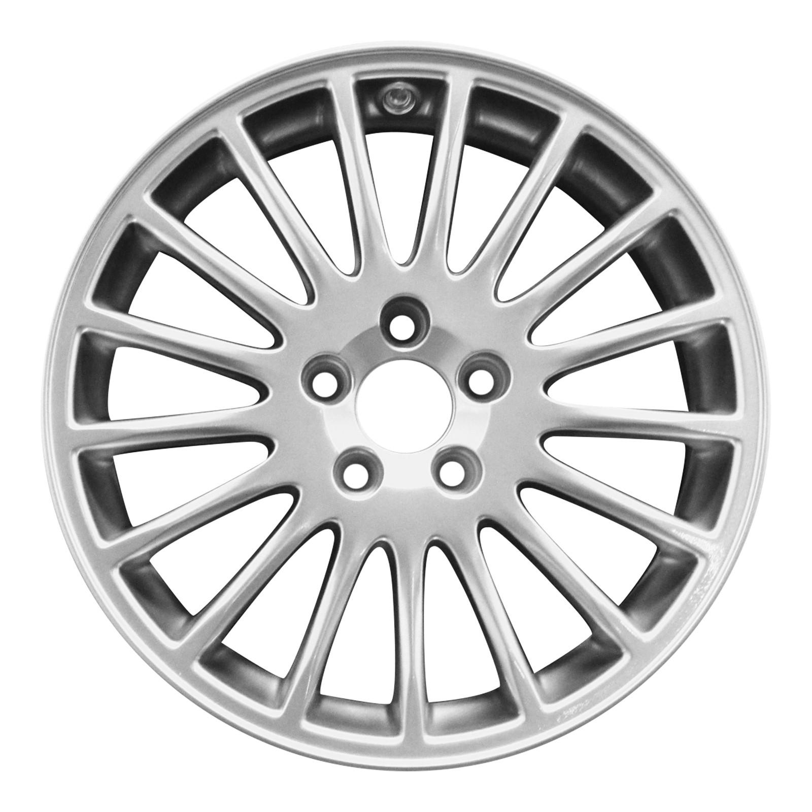 Volvo Oem 17 X 7 5 Aluminum Alloy Wheel Tethys Rim 8633140 Genuine Volvo Wheels