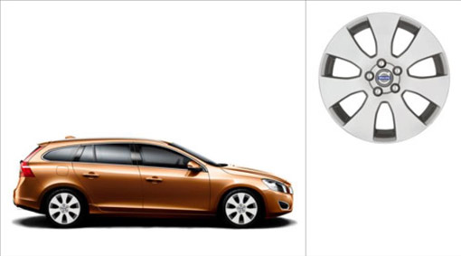 Volvo V60 Spartes Wheel