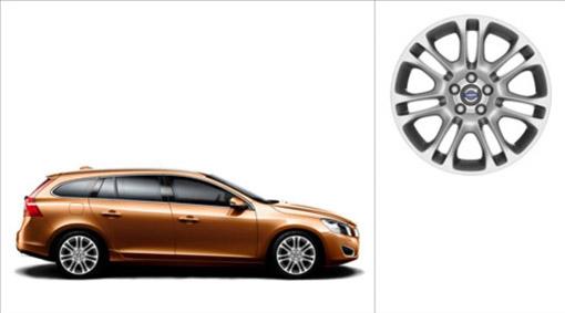 Volvo V60 Zubra Wheel